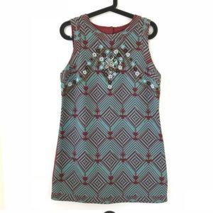 New Romantics Beaded Geo Dress